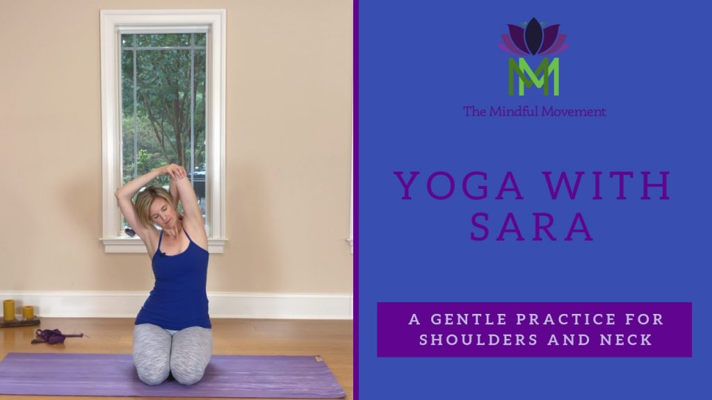 gentle yoga for shoulders and neck