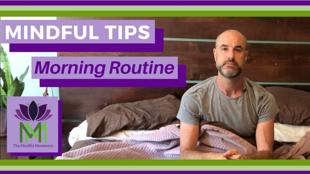 morning routine tip