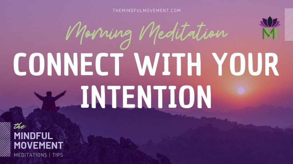 connect with your heart morning meditation