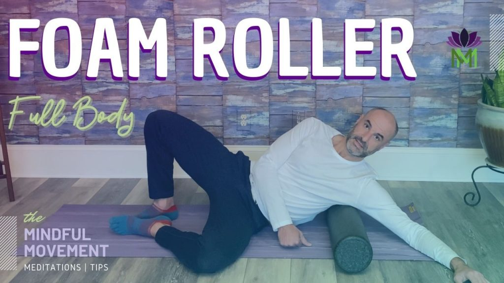 full body foam roller Les