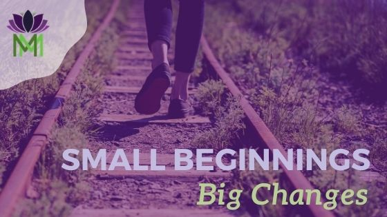 small steps to change